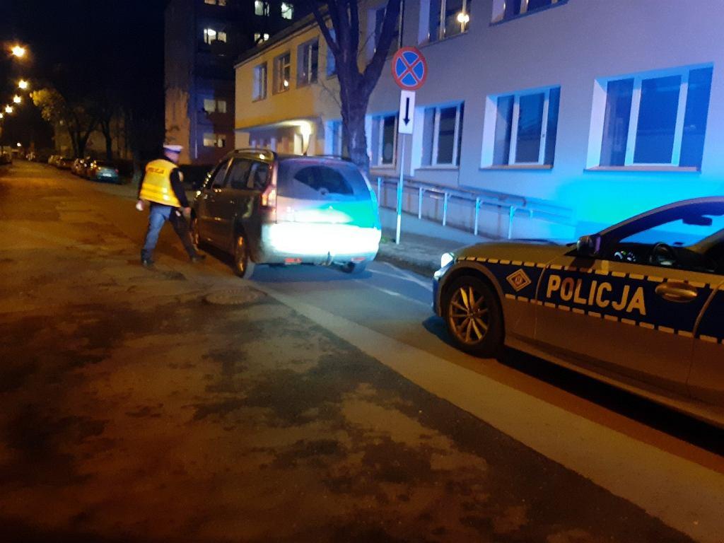 Pijany kierowca w Łodzi