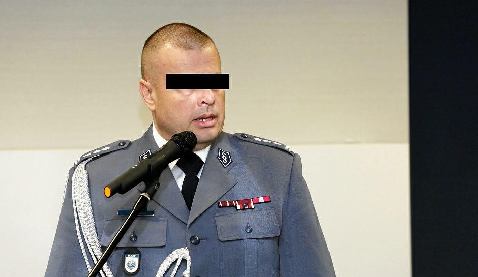 Były Komendant Główny Policji Zbigniew M.