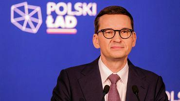 Mateusz Morawiecki w Przecławiu miał reklamować Polski Ład a atakował Platformę Obywatelską