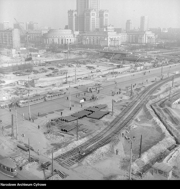 Budowa Dworca Centralnego w Warszawie
