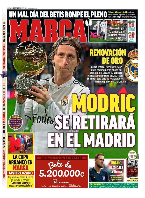 Luka Modrić podpisze nowy kontrakt z Realem Madryt