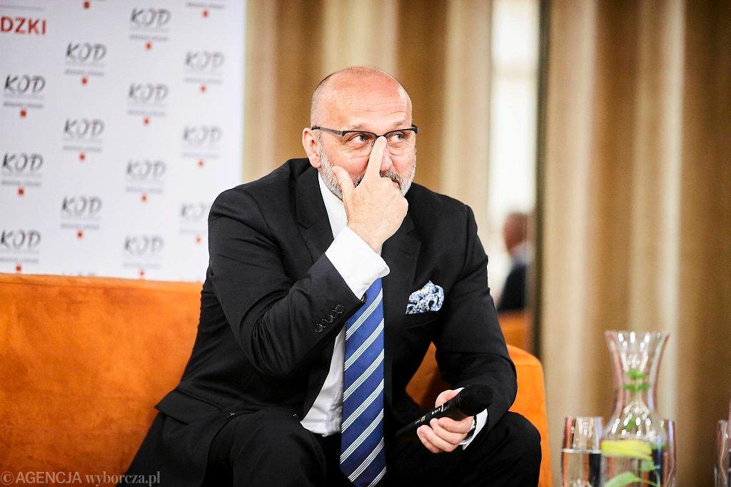 Kazimierz Marcinkiewicz w Łodzi