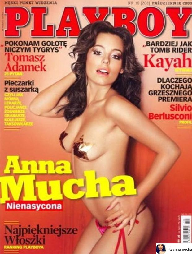Anna Mucha, 'Playboy'