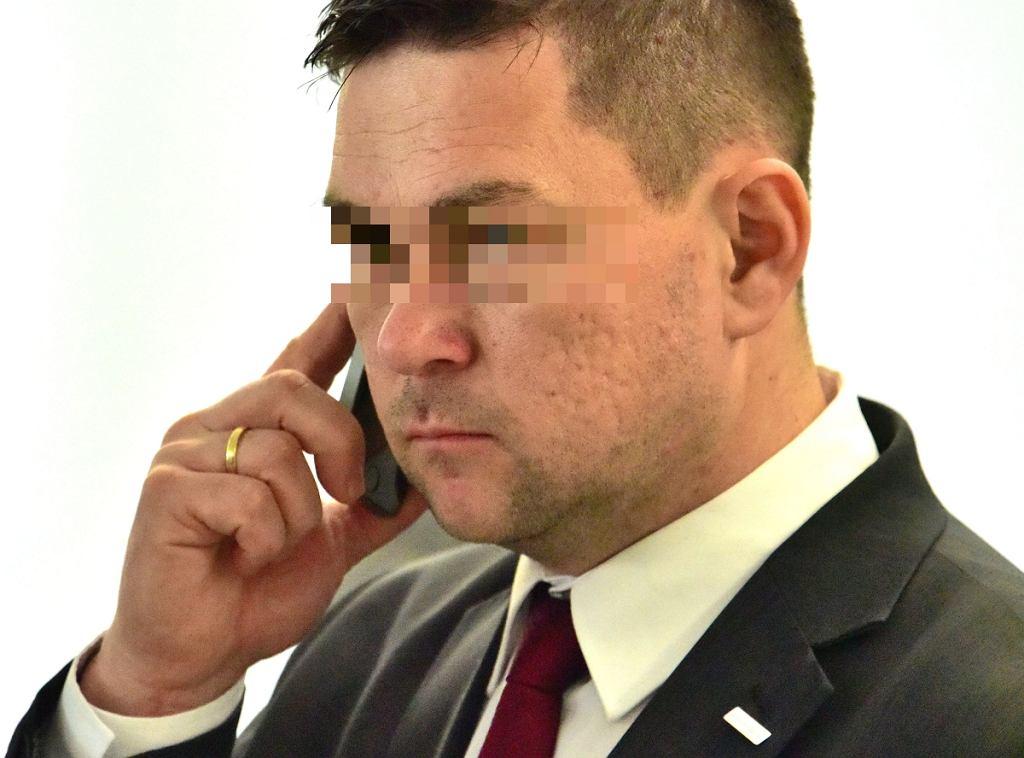 Poseł PiS Piotr O.