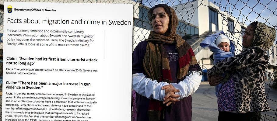 Szwedzi rozprawiają się z mitami o uchodźcach