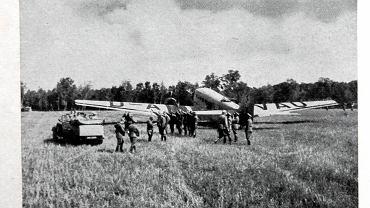 Archiwalne zdjęcia. Wrzesień 1939, samolot, którym podróżował Adolf Hitler