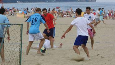Turniej piłki nożnej na plaży w Sopocie z cykluPatrick Cup