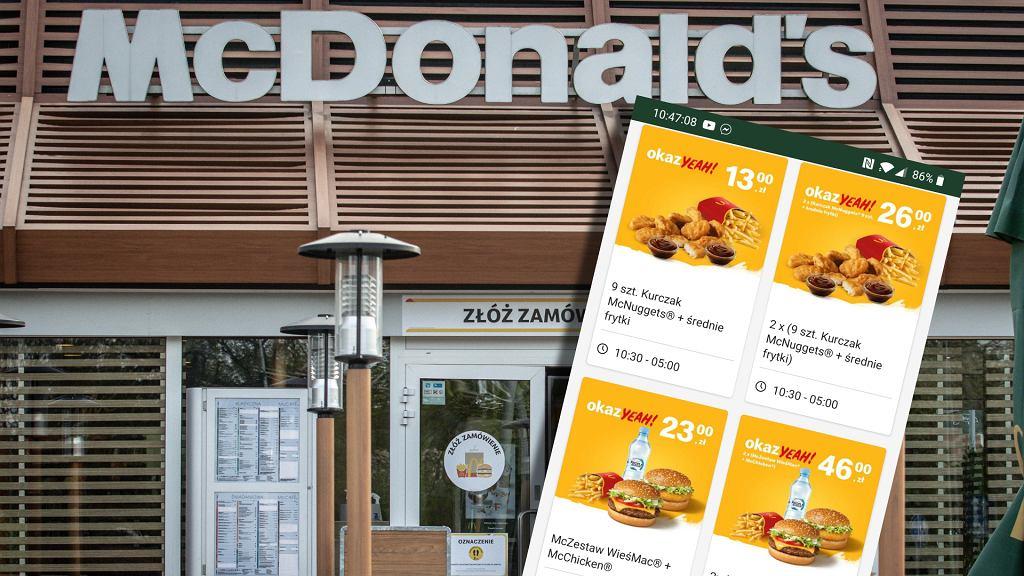 McDonald's usuwa słodzone napoje z oferty okazYEAH