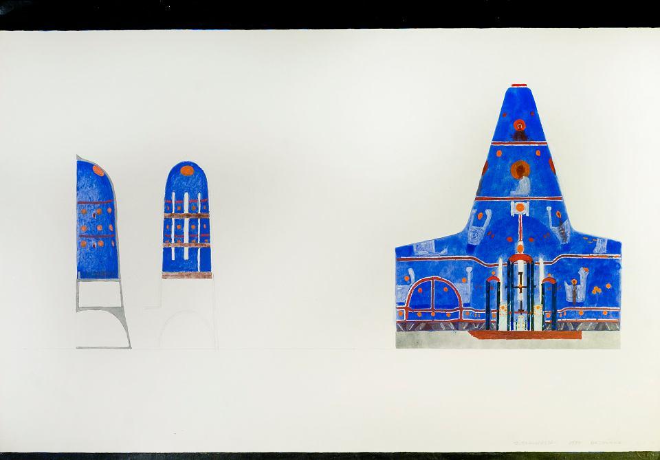 Wystawa rysunków Jerzego Nowosielskiego 'I żałuję, że Jerzy nie jest tutaj...'. Organizatorem wystawy w Muzeum im. Karnego jest fundacja Villa Sokrates