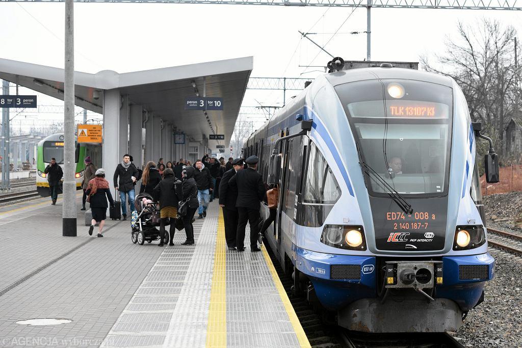 Dworzec PKP w Radomiu.
