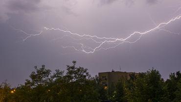 Burza w Częstochowie