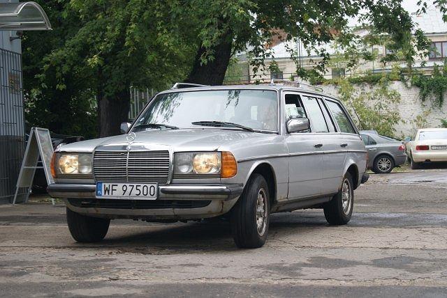 Mercedes W123 kombi