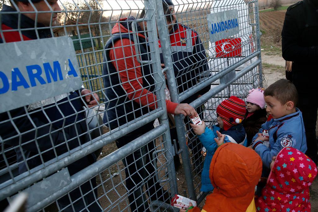 Uchodźcy i migranci na granicy turecko-greckiej