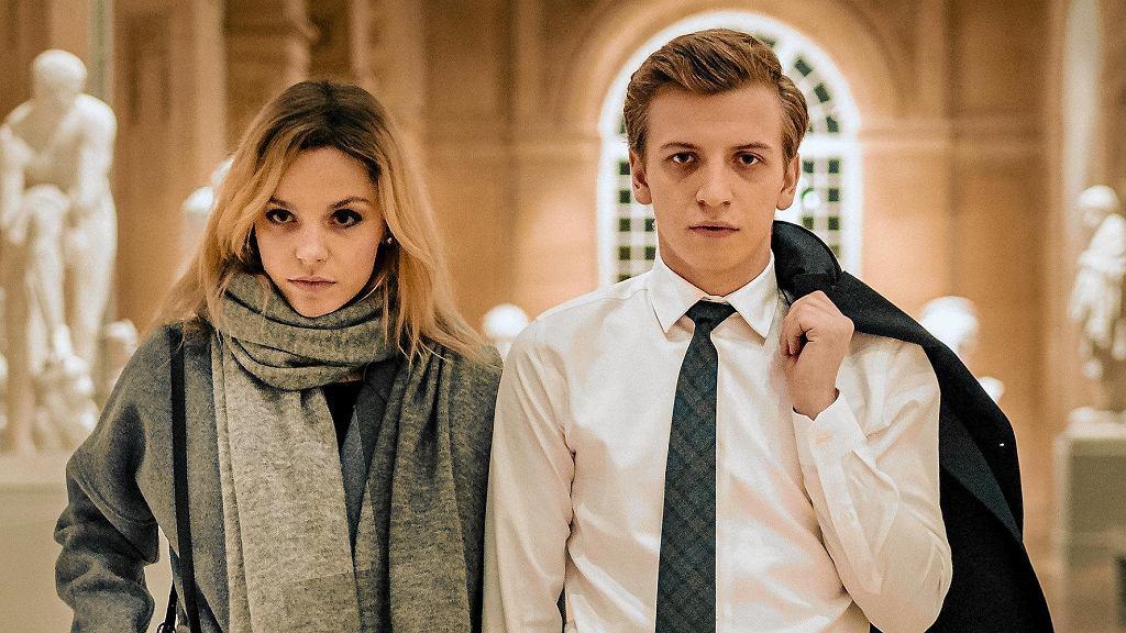 Vanessa Aleksander i Maciej Musiałowski w filmie 'Sala samobójców. Hejter'