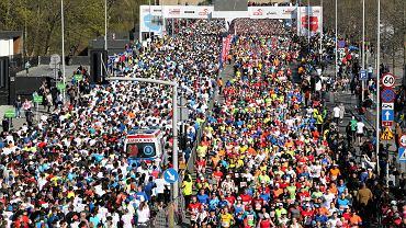 14.04.2019, start Orlen Warsaw Marathon 2019