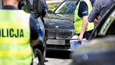 Wypadek SOP w Warszawie. Zdjęcie ilustracyjne