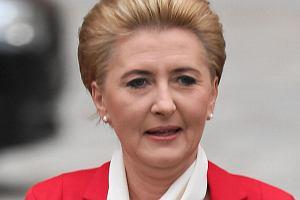 Agata Duda. Dzień Flagi Rzeczpospolitej Polskiej