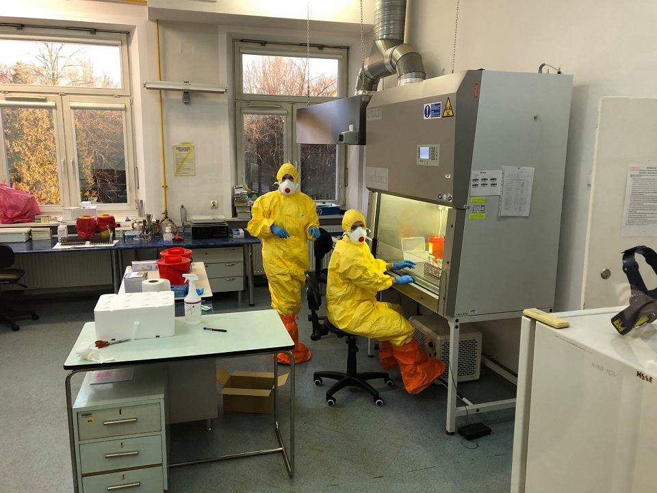 Testy na koronawirusa wykonywane są już w laboratorium w Białymstoku