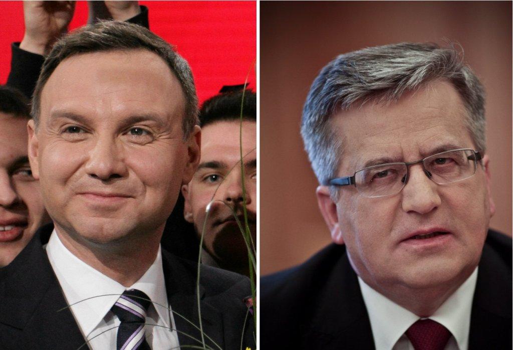 Andrzej Duda / Bronisław Komorowski