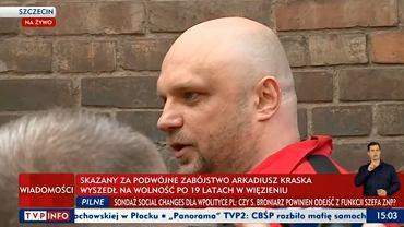 Arkadiusz Kraska wyszedł na wolność
