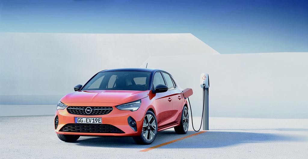 Opel Corsa w wersji elektrycznej