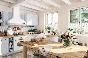 Firanki do kuchni: jakie sprawdzą się w małym pomieszczeniu?