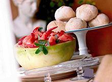 Sałatka z arbuzem i miętą - ugotuj