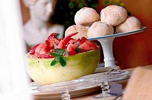 Sałatka z arbuzem i miętą