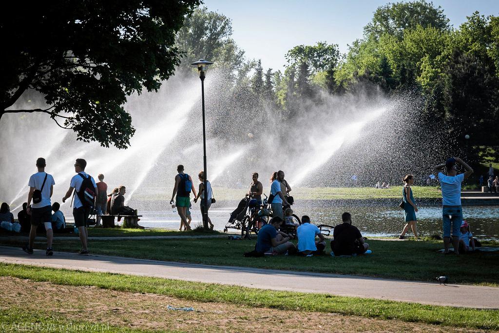Park Pole Mokotowskie w Warszawie