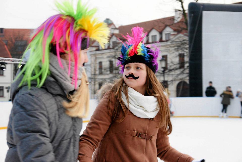 Disco Lodowisko na Starym Rynku w Płocku