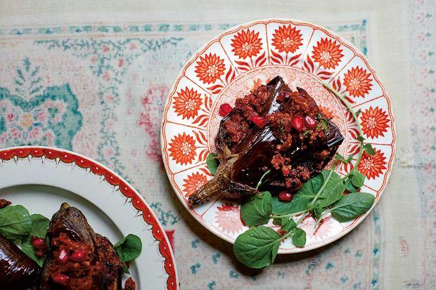 badridżani nigwzit, czyli faszerowane bakłażany