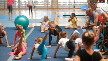 Festiwal sportowy dla dzieci Wannado na terenie Akademii Wychowania Fizycznego w Katowicach