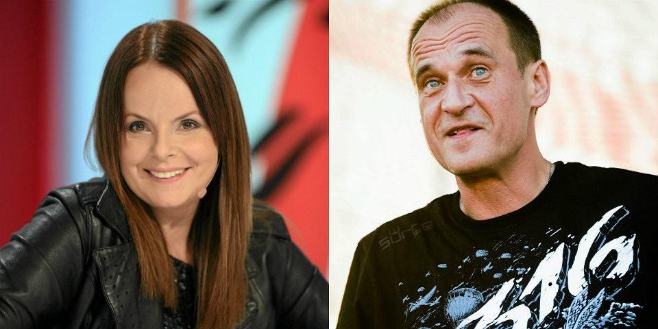Karolina Korwin-Piotrowska i Paweł Kukiz