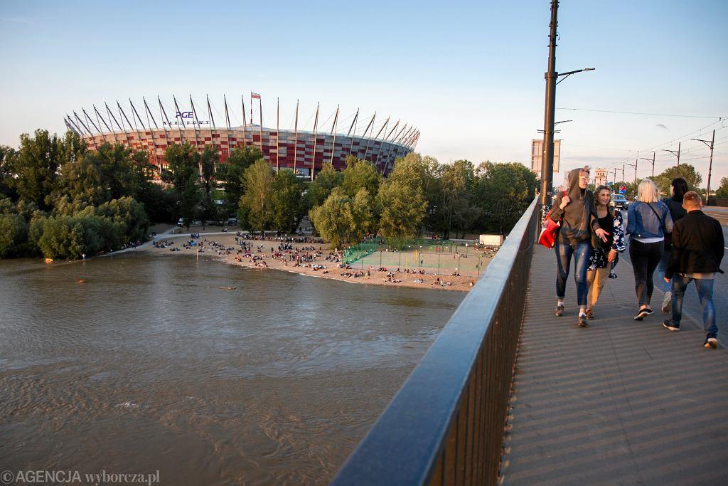 Most Poniatowskiego w Warszawie.