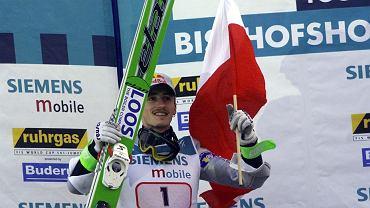 Adam Małysz, zwycięzca 49. Turnieju Czterech Skoczni