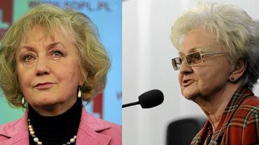 prof. Genowefa Grabowska, prof. Ewa Łętowska