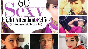 60 najeksowniejszych stewardów i stewardess z całego świata