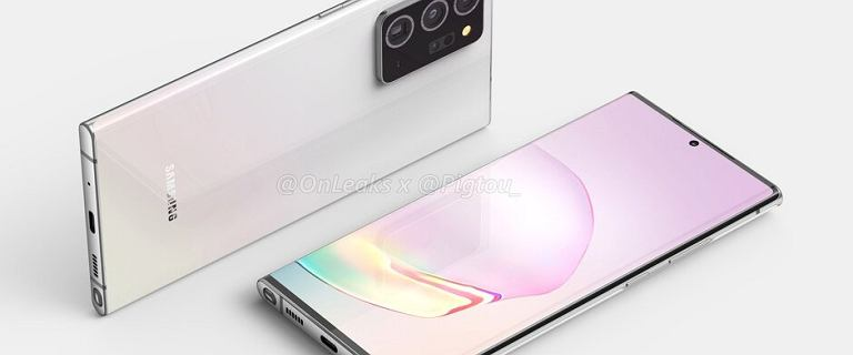Samsung Galaxy Note20 na pierwszych renderach. Rewolucji nie będzie. Kiedy premiera?