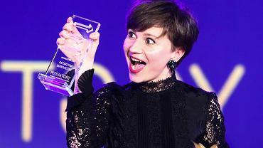 Katarzyna Borowiecka na gali wręczenia nagród studenckich Mediatory