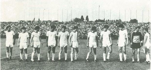 Piłkarze Motoru po raz drugi awansowali do pierwszej ligi, czerwiec 1983 r.