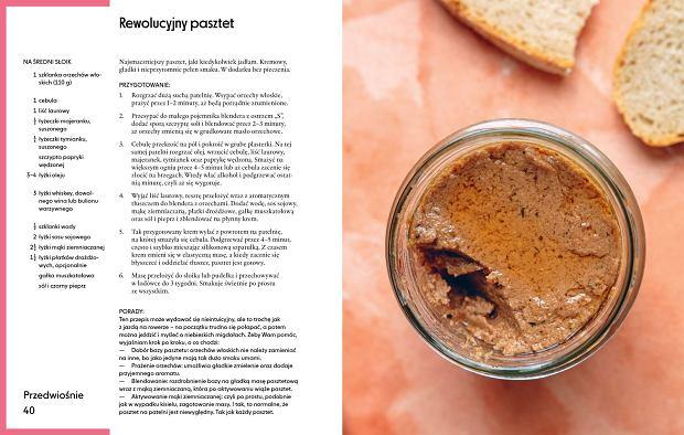 Przepis na pasztet do smarowania, bez pieczenia, z książki Marty Dymek 'Jadłonomia po polsku' / fot. materiały prasowe Wydawnictwa Marginesy