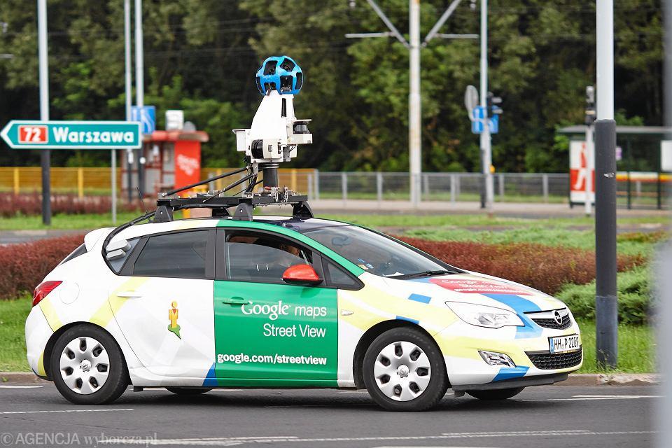 Chcesz Sie Znalezc W Aplikacji Street View Samochody Google W