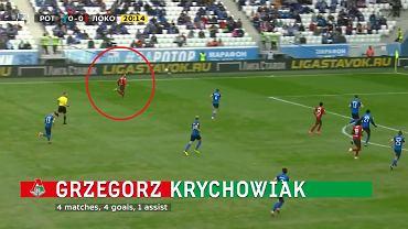 Grzegorz Krychowiak piłkarzem kwietnia