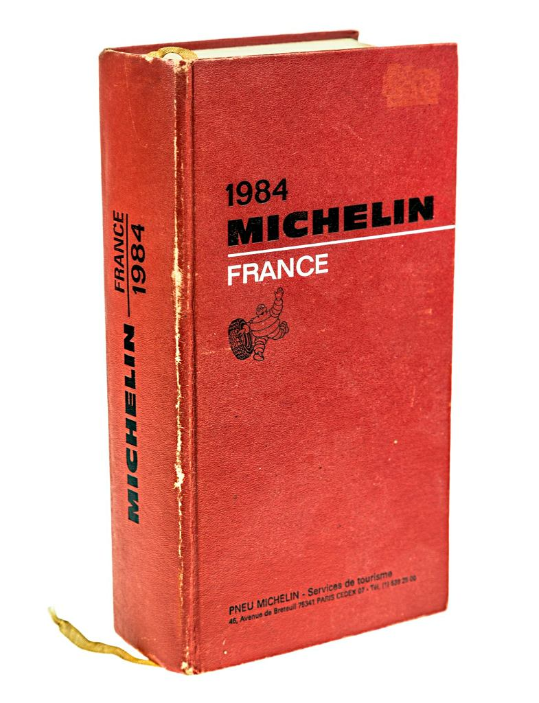 Przewodnik Michelin z 1984 r.