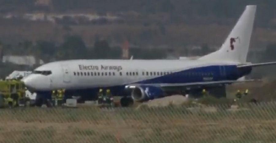 Boeing 737 awaryjnie ląduje w Tel Awiwie