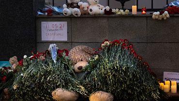 Kazań, Tatarstan. Miejsce ku pamięci zastrzelonych studentów