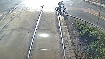 Nagranie z kabiny motorniczego