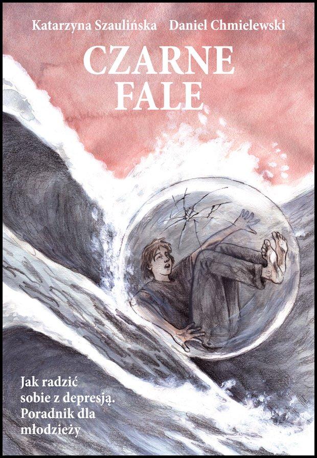 Komiks 'Czarne Fale' / K.Szaulińska i D.Chmielewski