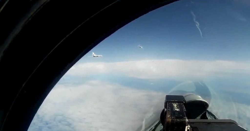 Rosyjskie myśliwce nad Bałtykiem