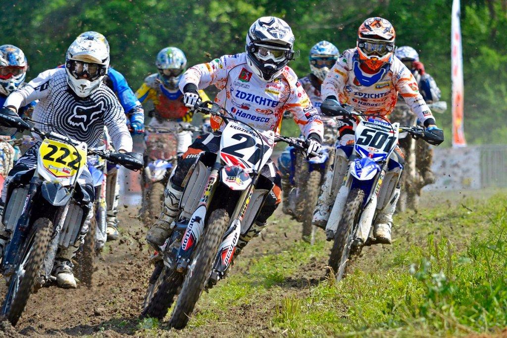 Zawody motocrossowe na Słowacji